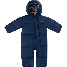 Columbia Snuggly Bunny Bunting Overall Baby, coll navy/pine green critter block